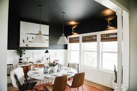 black dining room one room challenge back in black dining room the reveal