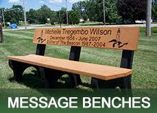 Engraved Benches Park Benches Picnic Tables Outdoor Recycled Plastic Benches Furniture