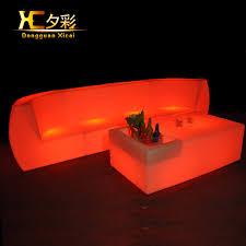 canap plastique led salon meubles lumineuse bar canapé changement de couleur canapé