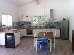 carrelage ciment cuisine carreau ciment credence meilleur idées de conception de maison
