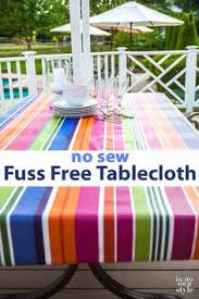 Patio Tablecloth Round Vinyl Tablecloth Tutorial Also Made A Thin Clear Vinyl Tablecloth