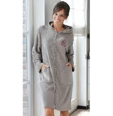 robe de chambre femme polaire robe de chambre tendre et sauvage françoise saget