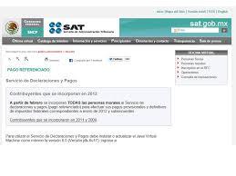 pago referenciado sat 2016 los impuestos nueva forma de declarar el próximo año blog control 2000