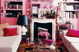 Pink Living Room Furniture Living Room Decorating Ideas Domino