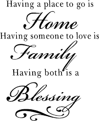 family quotes vinyl wall decals blessing quotes for home
