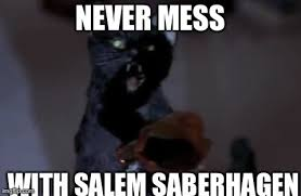 Mess Meme - never mess with salem saberhagen meme by cartoonanimes4ever on