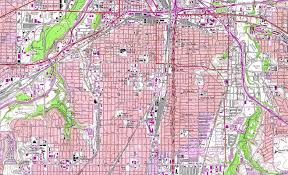 Waco Texas Zip Code Map by