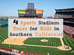 at t park lexus dugout club 4 sports stadium tours for kids in southern california socal