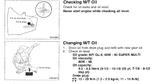 nissan altima manual transmission check and fill trans fluid on 1998 altima manual 5 speed