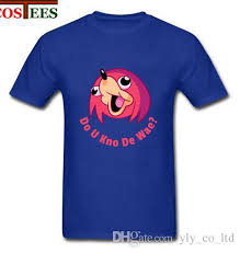 Meme Shirts - kawaii internet meme t shirt men funny do you kno de wae men s t