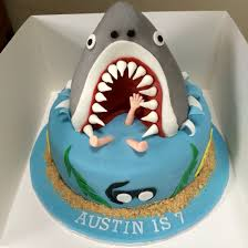 sharknado cake cakes pinterest cake shark party and birthdays