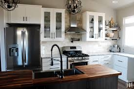 ikea glass kitchen wall cabinets dreamy ikea kitchen design happihomemade with sammi ricke