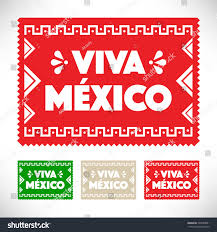 mexican holiday decoration cut out paper stock vector 295049891