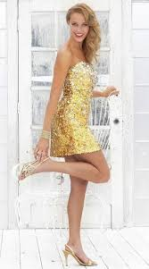 black by blush prom shiny gold cocktail dress c074 french novelty