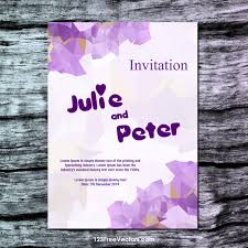 Free Wedding Invitation Card Template 360 Wedding Vector Images Vectors Download Free Vector Art