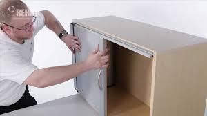 aluminum sliding cabinet door track