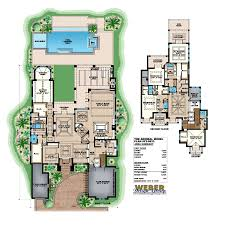 custom home plans for sale florida house plans architectural designs with pool 65614bs 14925