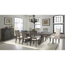 picket house furnishings stanford 10 piece dining set with table