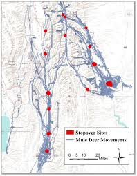 Map Of Time Wyoming Cooperative Fish And Wildlife Research Unit Phenology