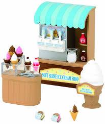 Sylvanian Families Garden Sylvanian Families Soft Serve Ice Cream Shop Calico Critters