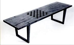 Outdoor Checker Table Made From Plans For A Chessboard Coffee Table Simon Watts Woodworking
