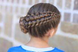 cute hairstyles for first communion how to create a zipper braid updo hairstyles cute girls hairstyles