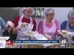 15 000 pounds of turkey served during mozel sanders thanksgiving