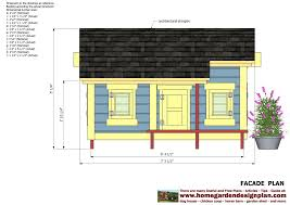 Dog House Floor Plans Home Garden Plans Dh303 Dog House Plans Dog House Design