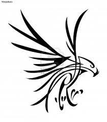 26 best tribal eagle tattoo images on pinterest searching draw