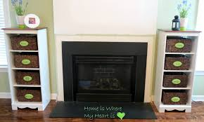 a new fireplace mantel it was worth the wait