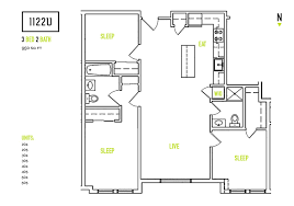 conventional 3 bedroom 2 bath 1122u apartments greystar