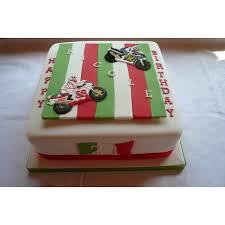 motorbike birthday cake celebration cakes by carol