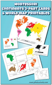 Seven Continents Map 46 Best Stem Continents And Oceans Images On Pinterest Map
