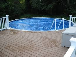 swimming pool rails in ground pool round designs
