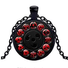 naruto pendant necklace images Calhepco naruto shippuden chain sharingan eye black jpg
