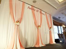wedding backdrop hk and white wedding backdrop decoration at the hong