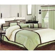 Beige Comforter Green Brown And Beige Comforter And Curtain Sets For Your Bedroom