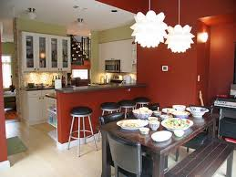 Kitchen And Dining Room Decor Kitchen With Dining Room Designs 60