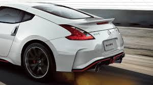 nissan 370z rear bumper 2018 nissan 370z coupe nismo tech nissan usa