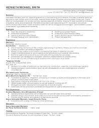 Resume Sample Aircraft Mechanic by Hydraulic Mechanic Sample Resume