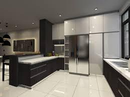 Wet Kitchen Design Permin Jaya Street Terrace Gallery Categories Leena Chai