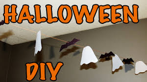 easy diy hanging bats u0026 ghosts youtube