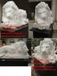 marble lion lion sculpture