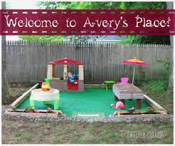 diy outdoor play space avery u0027s place play spaces outdoor play