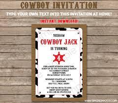 the 25 best cowboy party invitations ideas on pinterest cowboy