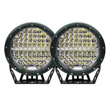 round led driving lights 7inch 590w cree round led driving lights work spotlights 12v 24v black