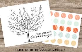 blessing tree printable