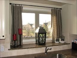 lovely walmart kitchen curtains swag taste