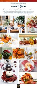 fall table decor fall table decor ideas inspired by our 2017 fall color palette
