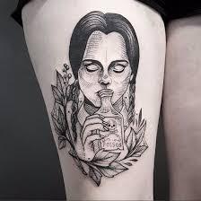 25 beautiful addams family tattoo ideas on pinterest addams
